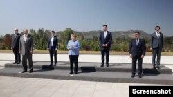 Nemačka kancelarka Angela Merkel na sastanku u Tirani sa liderima Zapadnog Balkana 14. septembra 2021. godine