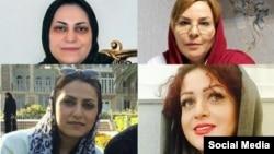 نازیلا نوری، آویشا جلال الدین، شیما انتصاری و سیما انتصاری