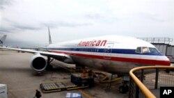 미국 4대 항공사의 하나인 아메리칸 에어라인(AA)의 항공기
