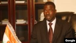 Mr.Morou Amadou, minisatan shari'a a Nijar.