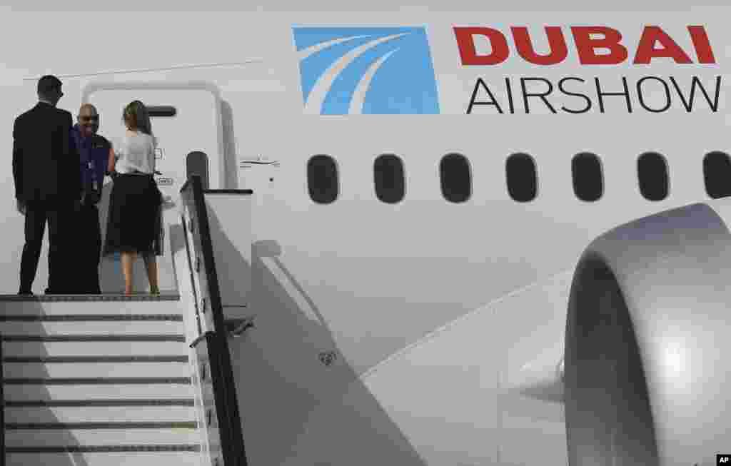 دبئی ایئر شو میں بوئنگ 787 کو بھی فروخت کے لیے پیش کیا گیا تھا