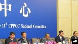 中國全國政協舉行關於新能源的記者會