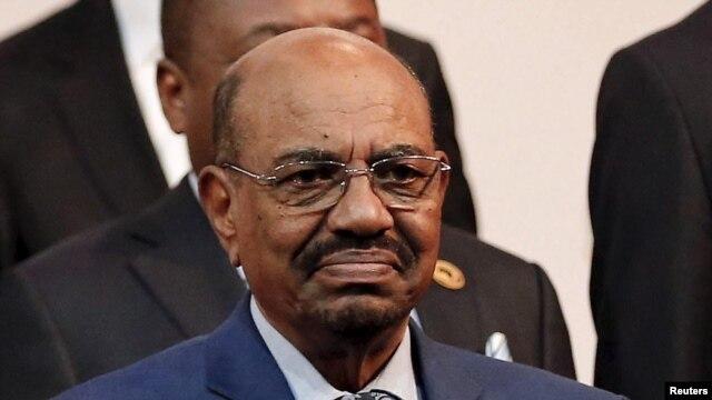 FILE - Sudanese President Omar Hassan al-Bashir.