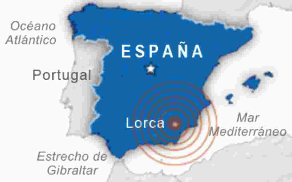 Earthquake in Murcia, Spain. May 11, 2011