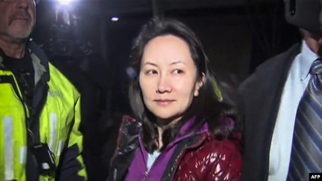 Meng Wanzhou, la jefa de finanzas de Huawei, fue arrestada en Canadá y está detenida con posible extradición a EE.UU.