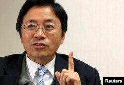 资料照: 台湾前行政院长张善政