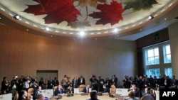 Toàn cảnh Hội nghị Thượng đỉnh G8 diễn ra tại Ontario, Canada, ngày 26 tháng 6, 2010