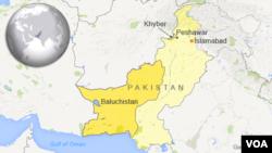 Yankin Khyber da Baluchistan, Pakistan