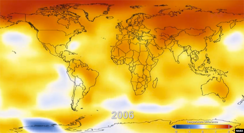 NASA Maps 130 Years of Climate Change