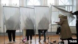 Избирательный участок в Ярославле