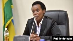 La ministre rwandaise de la santé Diane Gashumba