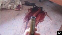 Trois militants de l'UDPS tués dont les corps ont été enlevés par la police au siège du parti à Limete, le 26 novembre 2011.
