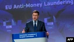 EU ေကာ္မရွင္ ဒုတိယဥကၠ႒ Valdis Dombrovskis (ေမ ၀၇၊ ၂၀၂၀)