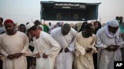 Des musulmans au Soudan