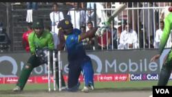 پاکستان اور سری لنکا کے درمیان چوتھا ون ڈے میچ۔ فائل فوٹو