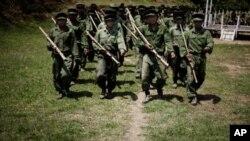 Бойцы Армии независимости Качина. Архивное фото.
