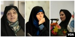 جنیدی، مولاوردی و ابتکار، دو معاون و یک دستیار روحانی، تنها زنان دولت دوازدهم هستند