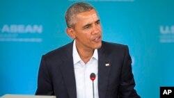 Presiden AS Barack Obama membuka KTT AS-ASEAN di Sunnylands, California Senin sore (15/2).