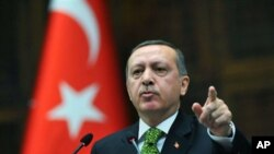 Turkey's prime minister Recep Tayyip Erdogan (file photo)