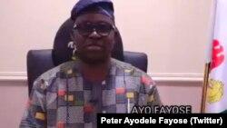 Peter Ayodele Fayose, gwamnan jihar Ekiti
