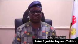 Peter Ayodele Fayose, gwamnan Ekiti mai barin gado