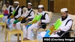 په هرات کې طالبانو خوشي کړي د افغان حکومت بندیان.