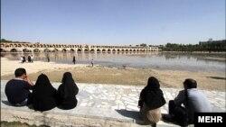 عکس از آرشیو. نمایی از اصفهان