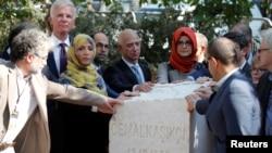 İstanbul'da Cemal Kaşıkçı'yı anma törenine dünyanın en zengin işadamı Jeff Bezos da katıldı