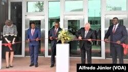 Inauguração do novo edifício da embaixada dos EUA em Moçambique, 30 de Setembro de 2021