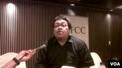 Peneliti masalah terorisme, Solahuddin. (VOA/Andylala Waluyo)