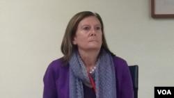 美國國務院全球婦女議題辦公室資深官員史蒂芬妮‧佛斯特 (美國之音蕭洵)