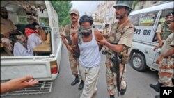 کراچی میں ر ینجرز جرائم پیشہ افراد کے خلاف متحرک، کئی علاقوں میں آپریشن