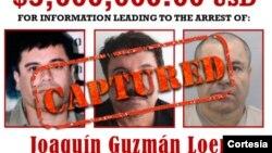 """Joaquín """"El Chapo"""" Guzmán fue recapturado en el municipio de Los Mochis, en Sinaloa, México. [Foto: DEA]"""