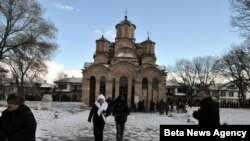 Manastir Gračanica na Kosovu - jedan od četiri bisera srpske kulturne baštine pod zaštitom UN.