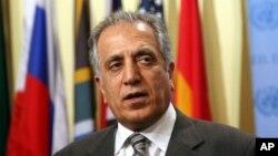 زلمی خلیلزاد، سفیر پیشین ایالات متحده امریکا در افغانستان و عراق