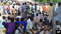Wasu 'yan gudun hijirar Boko Haram