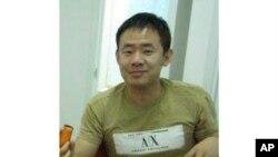 Hình ông Xiyue Wang một nhà nghiên cứu người Mỹ gốc Hoa theo học trường Đại học Princeton Mỹ, chụp tại Hong Kong vào năm 2009.