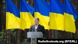우크라이나의 페트로 포로셴코 대통령 (자료사진)