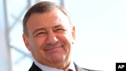 FILE - Forbes Magazine has said Russian businessman Arkady Rotenberg has a personal fortune of $1.8 billion.