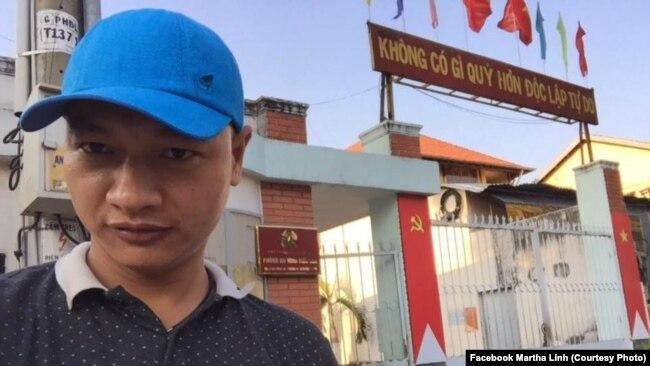 Nhà hoạt động Bạch Hồng Quyền vẫn đang bị truy nã.