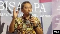 Direktur Pencegahan BNPT Hamli. (Foto: VOA/Sasmito)