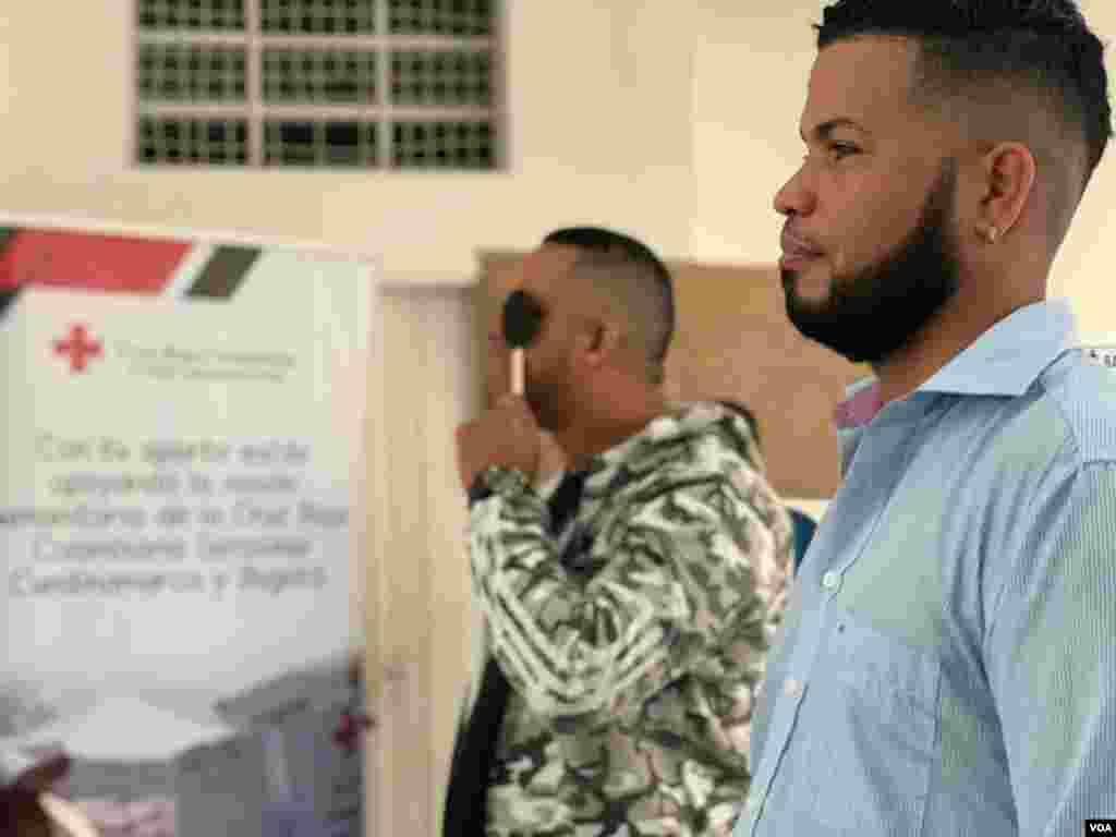 Según una vocera de la Cruz Roja, del total de asistente a la jornada, el 70 por ciento era comunidad migrante venezolana.