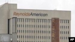 Gedung perusahaan tembakau kedua terbesar RJ Reynolds di Florida.