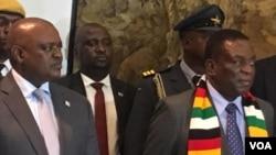 President Masisis and President Mnangagwa ...