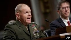 參議院軍事委員會3月14日詢問了海軍陸戰隊司令羅伯特內勒上將對這起醜聞的回應。