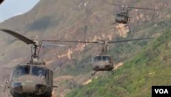 Colombia y Estados Unidos cooperarán desde bases militares colombianas en operaciones contra el terrorismo y el narcotráfico.