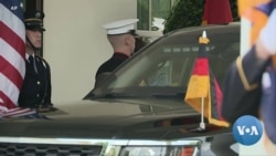 Russian Pipeline Remains Sticking Point in Biden-Merkel Meeting