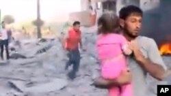 Warga sipil di Suriah menjadi korban dari konflik yang berkepanjangan di sana (foto: dok).