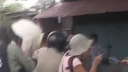 Boeng Kak Villagers Injured in Clashed With Police (Cambodia news in Khmer)