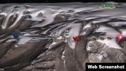 """""""Santa Claus nunca hace la misma ruta"""", dice un funcionario del programa NORAD Sigue a Santa."""